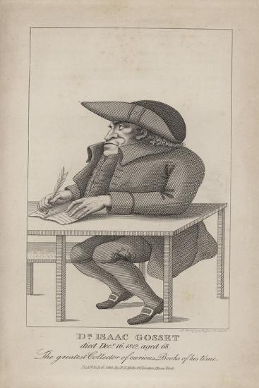 Dr Isaac Gosset--Giclee Print