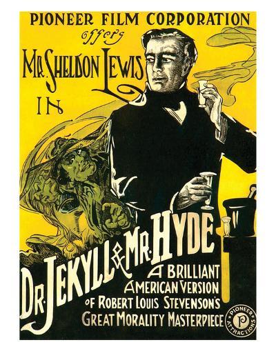 Dr.Jekyll & Mr. Hyde - 1920--Giclee Print