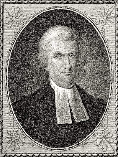 Dr John Witherspoon, Engraved by James Barton Longacre (1794-1869)-Charles Willson Peale-Giclee Print