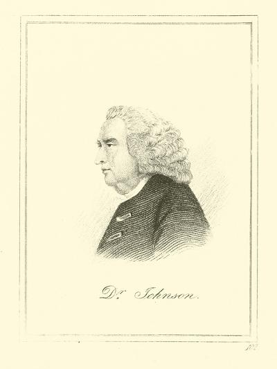 Dr. Johnson--Giclee Print