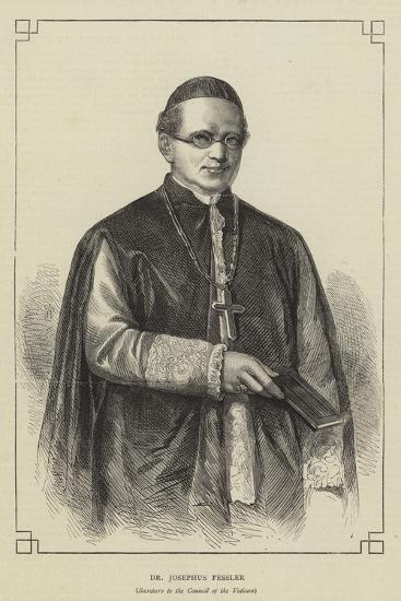 Dr Josephus Fessler--Giclee Print