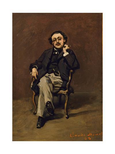 Dr. Leclenché, 1864-Claude Monet-Giclee Print
