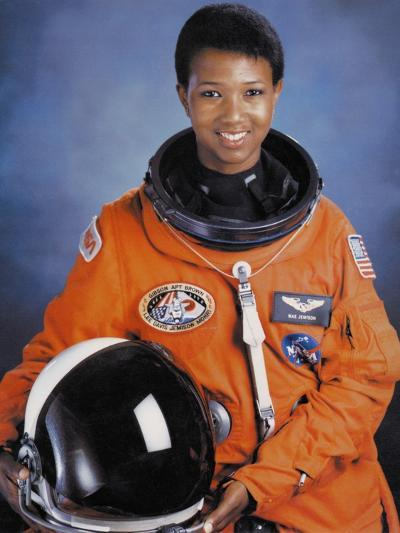 Dr Mae Jemison Was the First African-American Woman in Space--Photo