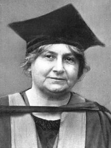 Dr Maria Montessori (1870-195), Italian Philosopher, 1926