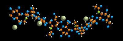 Hyaluronic Acid, Molecular Model