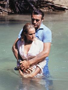 Dr No by Terence Young with Ursula Andress, Sean Connery, 1962 (photo)