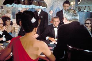 Dr. No, Eunice Gayson (Red Dress), Sean Connery, 1962