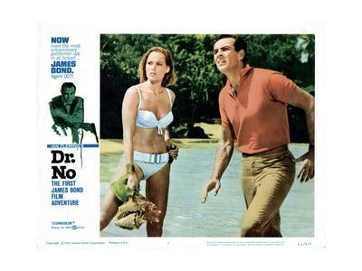 Dr. No, Ursula Andress, Sean Connery, 1962--Giclee Print
