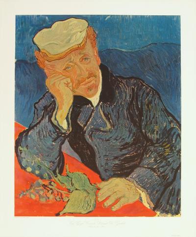 Dr. Paul Gachet, c.1890-Vincent van Gogh-Collectable Print