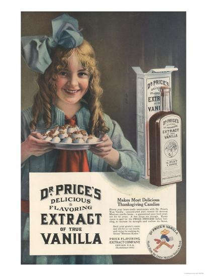 Dr Price's extract of Vanilla, USA, 1914--Giclee Print