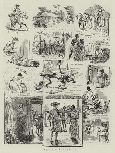 Dr Syntax in Ceylon--Giclee Print