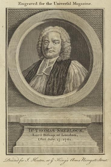 Dr Thomas Sherlock, Lord Bishop of London--Giclee Print