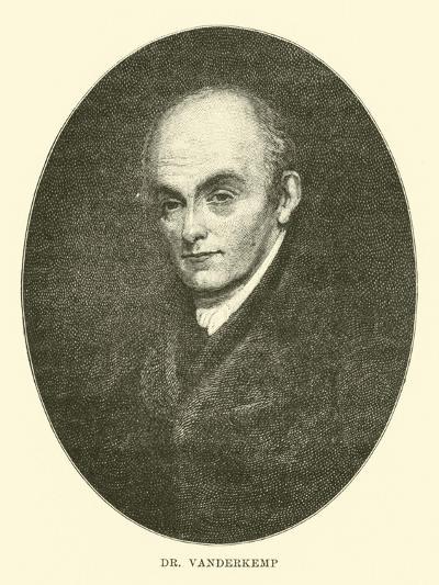 Dr Vanderkemp--Giclee Print