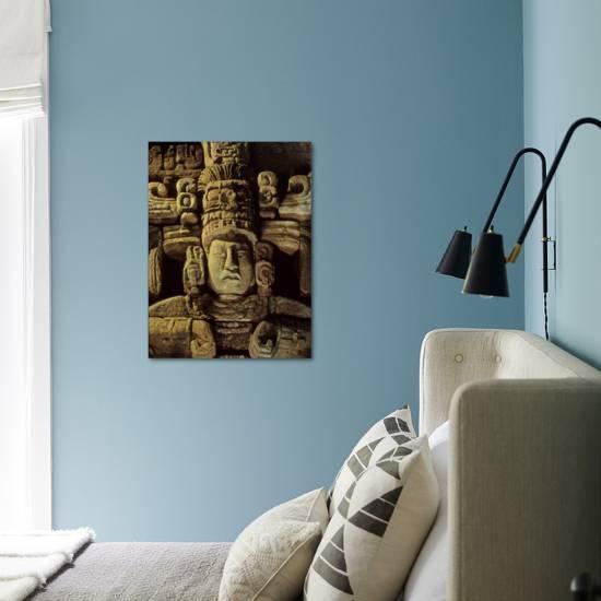 Dr  Webster, Barbara Fash, Corn God, Copan, Maya, Honduras Photographic  Print by Kenneth Garrett | Art com