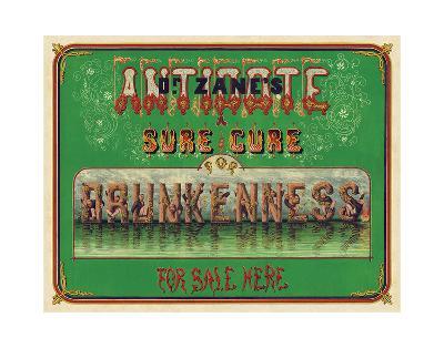 Dr. Zane?s Antidote, c. 1864--Giclee Print