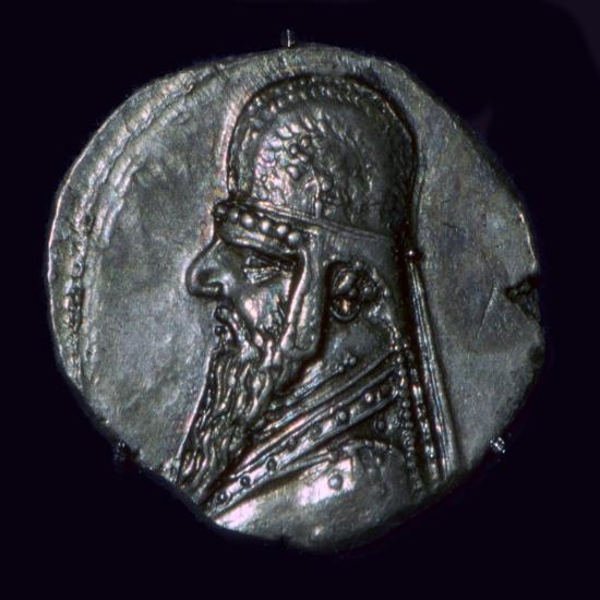 Drachma of King Mithridates II of Parthia, c1st century BC. Artist: Unknown-Unknown-Giclee Print