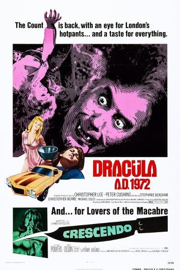 Dracula A.D., 1972--Art Print