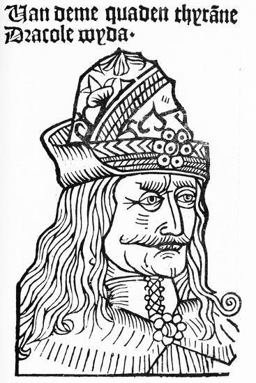 Dracula (Vlad Tepes), 1488-93-German School-Giclee Print