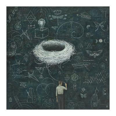 Drafting, Drifting ConsciousNest-Duy Huynh-Art Print