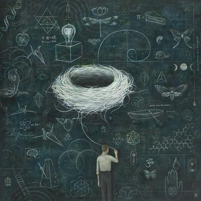 Drafting, Drifting ConsciousNest-Duy Huynh-Premium Giclee Print