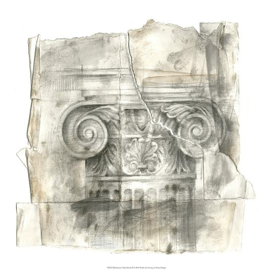 Draftsman's Sketchbook II-Ethan Harper-Premium Giclee Print