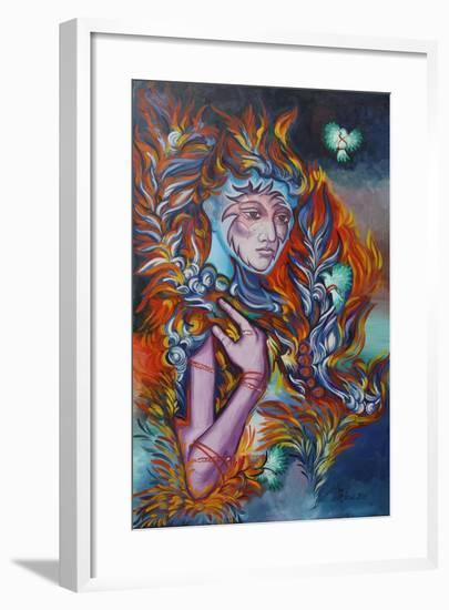 Dragon Nest, 2015-Irina Corduban-Framed Giclee Print