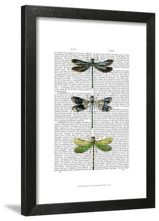 Dragonflies Print 2-Fab Funky-Framed Art Print
