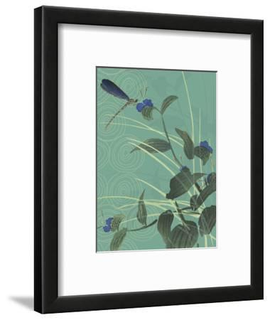 Dragonfly and Blooms