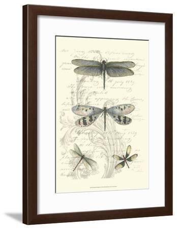 Dragonfly Delight II--Framed Art Print