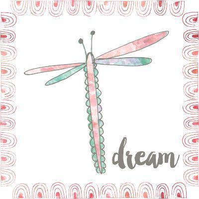 Dragonfly Dream-Katie Doucette-Art Print