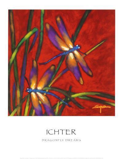 Dragonfly Dreams-Robert Ichter-Art Print
