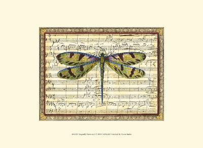 Dragonfly Harmony I--Art Print