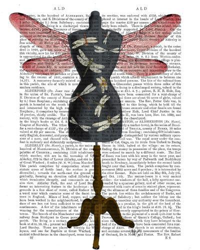 Dragonfly Mannequin-Fab Funky-Art Print