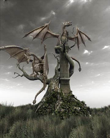 Dragons on a Gnarled Tree