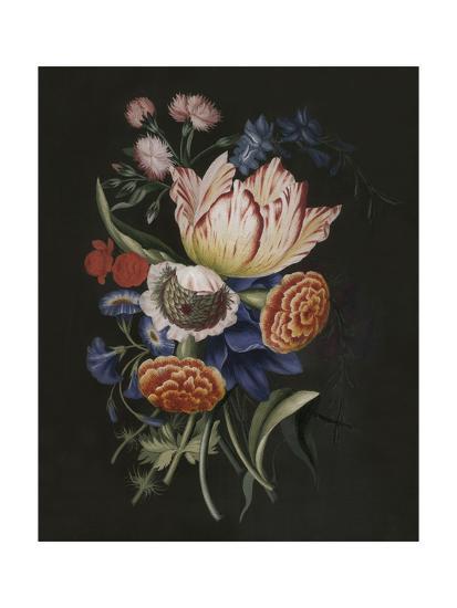 Dramatic Bouquet II--Art Print