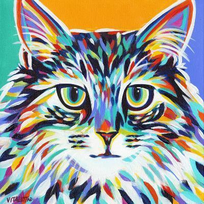 Dramatic Cats I-Carolee Vitaletti-Art Print