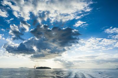 Dramatic Clouds at Sunset over the Mamanucas Islands, Fiji, South Pacific-Michael Runkel-Photographic Print