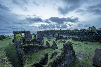 Dramatic Clouds Over Fort San Lorenzo, Panama-Jonathan Kingston-Photographic Print