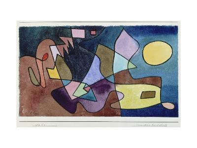 Dramatic Landscape, 1928-Paul Klee-Giclee Print