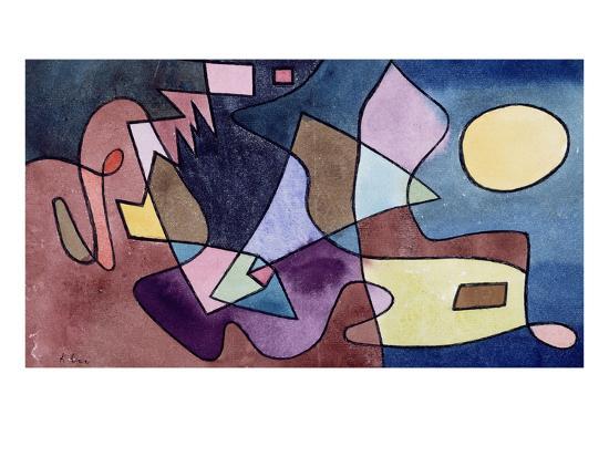 Dramatic Landscape; Dramatische Landschaft-Paul Klee-Premium Giclee Print
