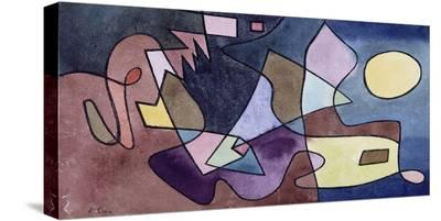 Dramatic Landscape-Paul Klee-Stretched Canvas Print