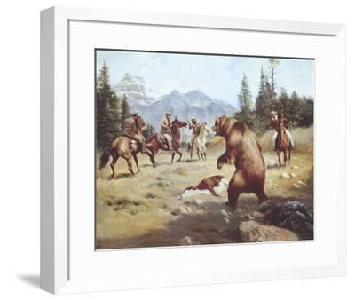 Dramatic Moment-Harry Bishop-Framed Premium Giclee Print