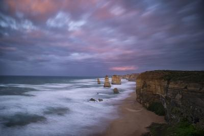 Dramatic Sky Above the Twelve Apostles-Chad Copeland-Photographic Print