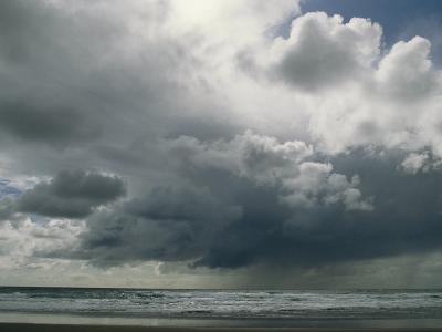 Dramatic Storm Clouds over Ocean Water-Charles Kogod-Photographic Print