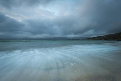 Dramatic Stormy Skies and Flowing Tide-Stewart Smith-Photographic Print