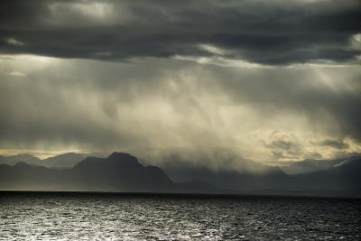 Dramatic Weather at the Fjord of Kangerlussuaq-Michael Melford-Photographic Print