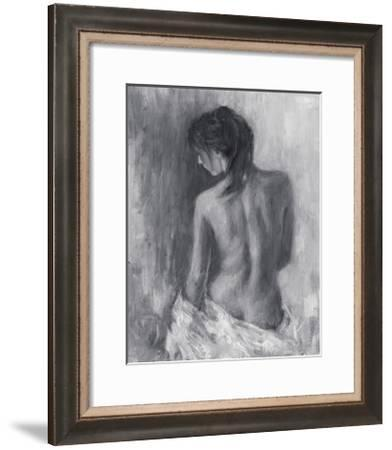 Draped Figure II-Ethan Harper-Framed Limited Edition