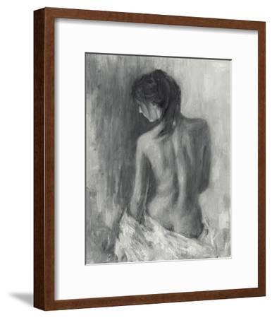 Draped Figure II-Ethan Harper-Framed Premium Giclee Print