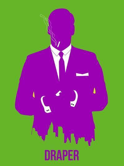 Draper Poster 1-Anna Malkin-Art Print