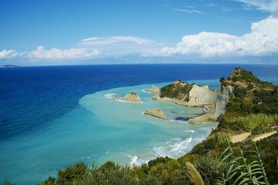 Drastis Cape Near Sidari Village. Corfu, Ionian Islands, Greek Islands, Greece, Europe-Tuul-Photographic Print